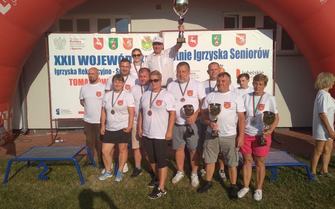 Gmina Jarczów i Powiat Tomaszów wygrywają XXII Igrzyska LZS