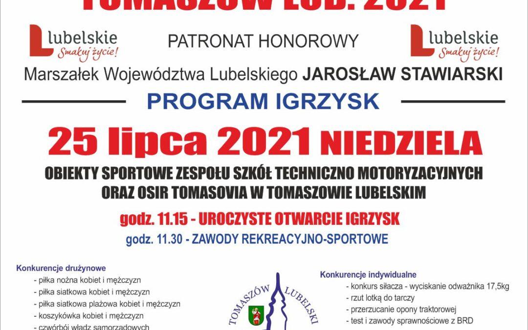 Niedziela Igrzysk w Tomaszowie Lubelskim
